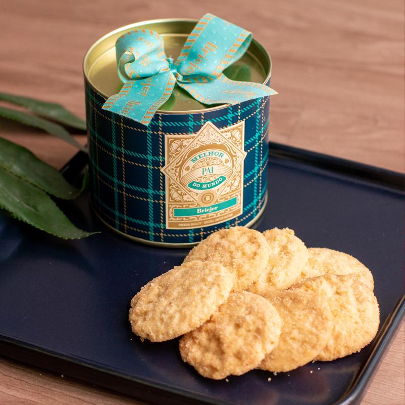 Lata P Biscoitos Amanteigados Suíço (80g) | Pai