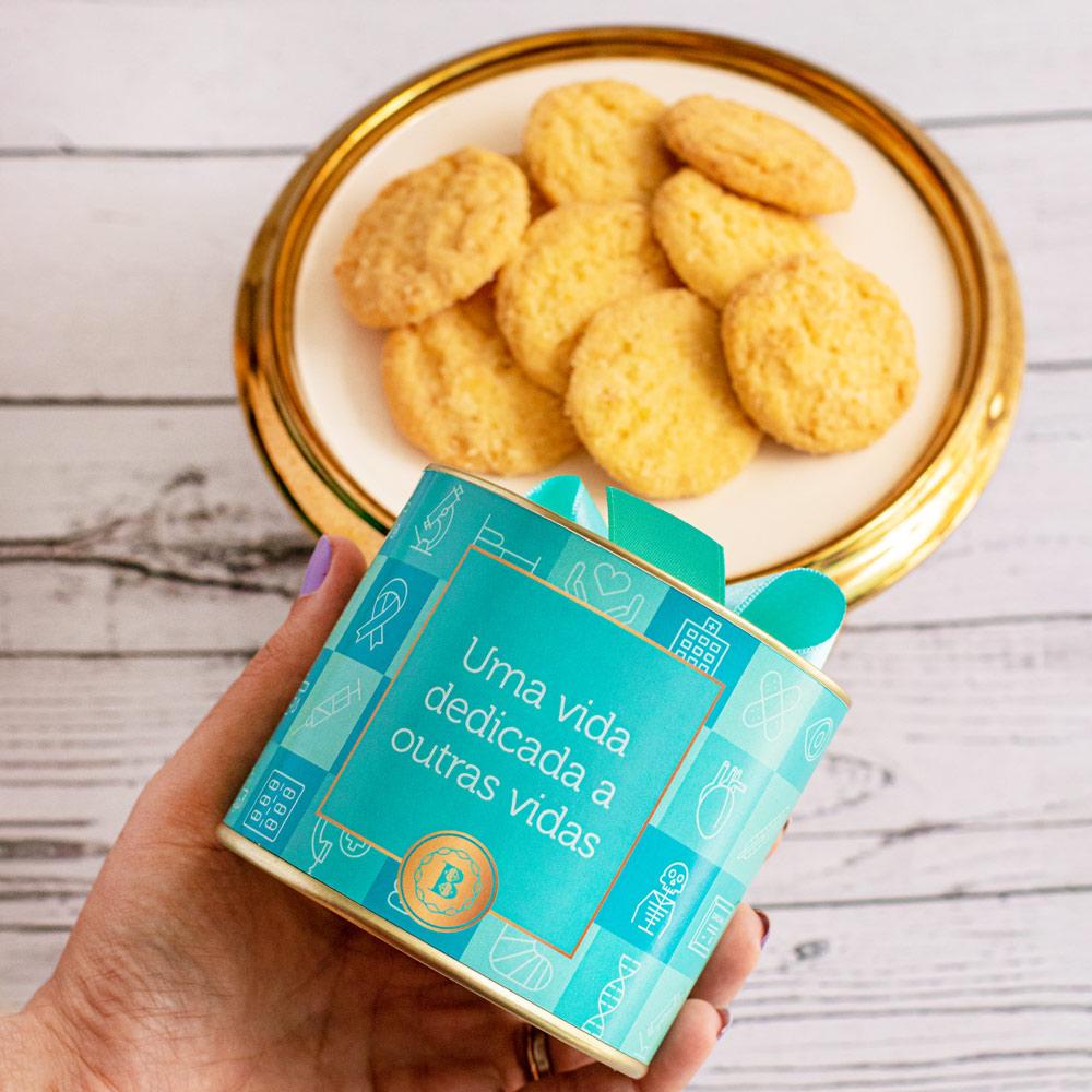 Lata P Biscoitos Amanteigados Suíços   Médico
