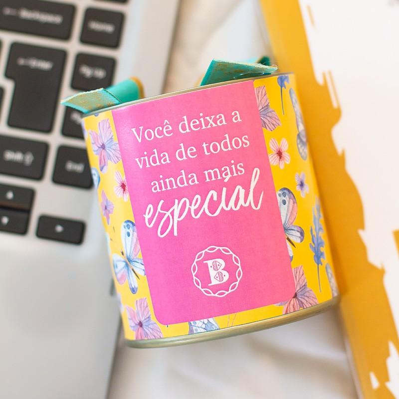 Lata P Suíço - Outubro Rosa