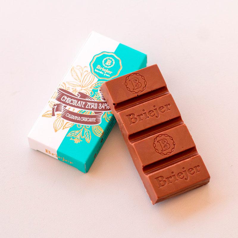 Mini Barra de Chocolate Zero 34%