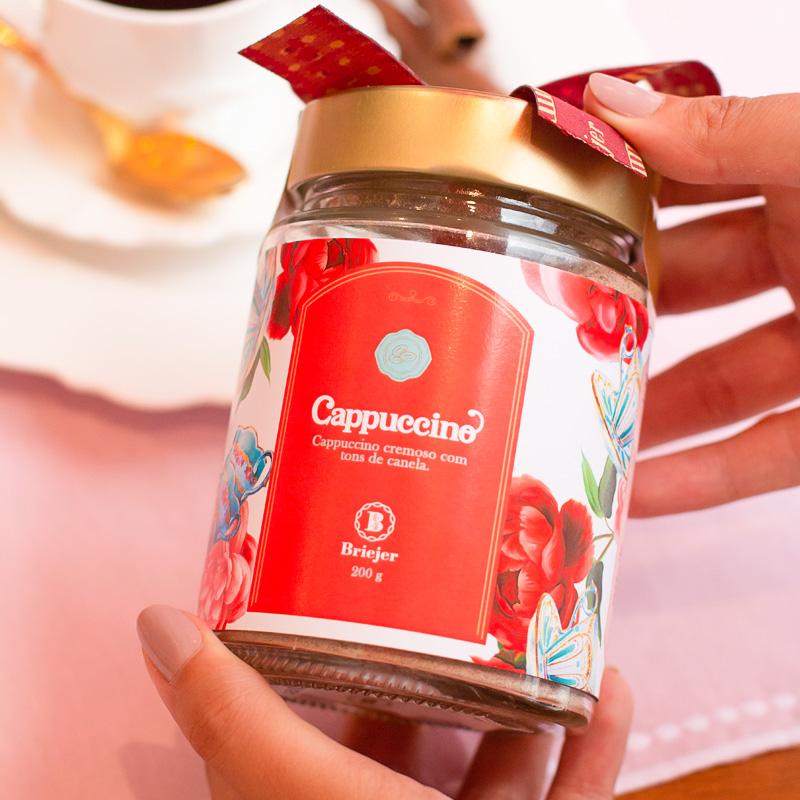 Pote de Cappuccino Briejer | Coleção Florescer