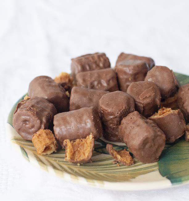 Rolinhos de Chocolate