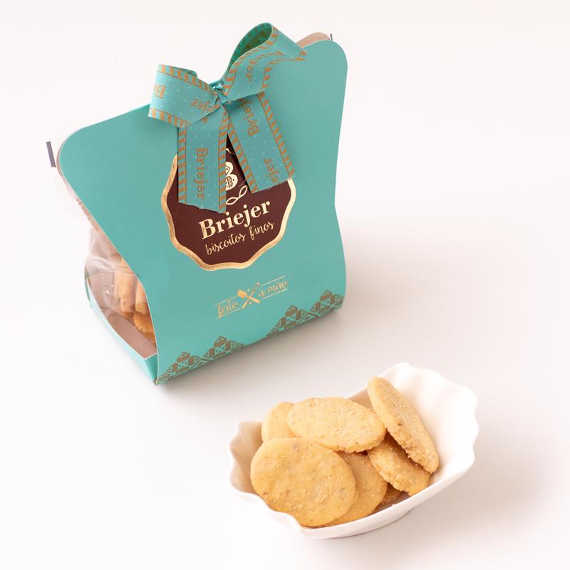Saq. Biscoitos Amanteigados Crocantes (180g)
