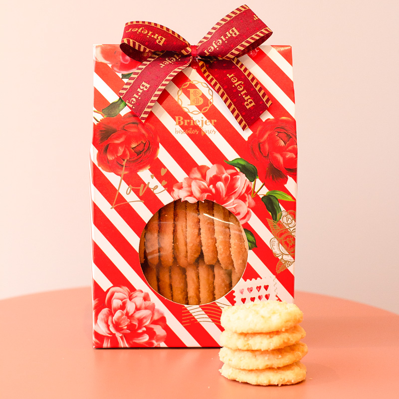 Saq. de Biscoitos Amanteigados (200g) | Coleção Florescer
