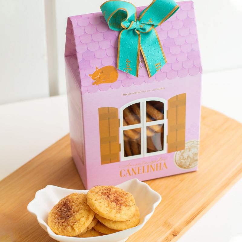 Saq. de Biscoitos Amanteigados Canelinha  (200g)