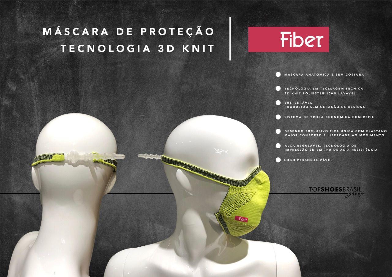 MÁSCARA DE PROTEÇÃO TECNOLOGIA 3D KNIT