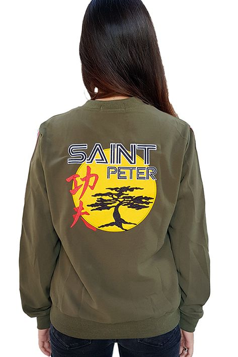 Bomber Saint Peter Japan Verde