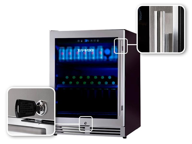 CERVEJEIRA INOX BENMAX COMPRESSOR PERFECT MATCH 135 LITROS RL - 127V