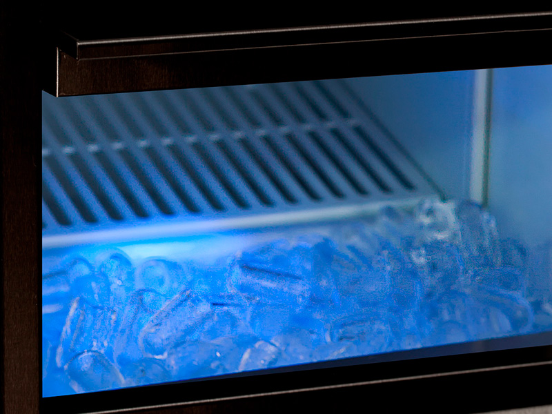 MAQUINA DE GELO INOX BENMAX SUPER ICE 50KG  BLACK - 220V