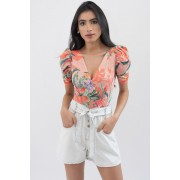Body Trimix Manga Princesa Floral