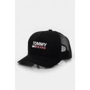 Bone Tommy Hilfiger Logo Trucker