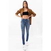 Calca Jeans Levis 720 High Rise Super Skinny Puido
