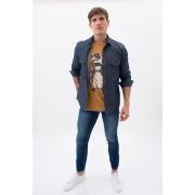 Camisa Jeans King&Joe Dirty