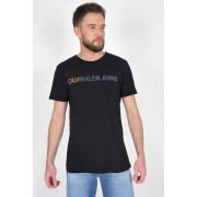 Camiseta Mc Calvin Klein Logo Colors