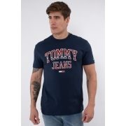Camiseta Mc Tommy Hilfiger Collegiate