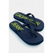 Chinelo Calvin Klein Logo Deslocado