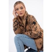 Jaqueta Calvin Klein Matelasse Nylon Estampada