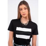 T Shirt Calvin Klein Established Faixas
