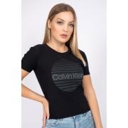 T Shirt Calvin Klein Logo Circulo