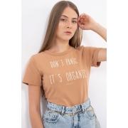 T Shirt Colcci Dont Panic Its Organic