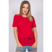 T Shirt Tommy Hilfiger Script Tee