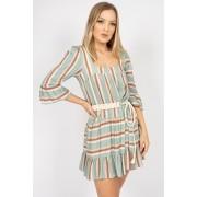 Vestido Ave Rara Stripe Color