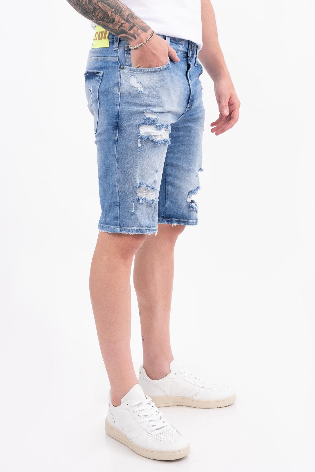 Bermuda Jeans Colcci Noah Destroyed