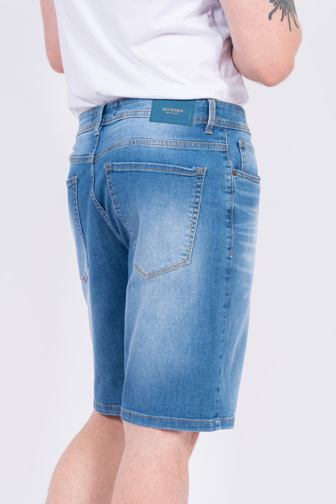 Bermuda Jeans King&Joe Five Pockets