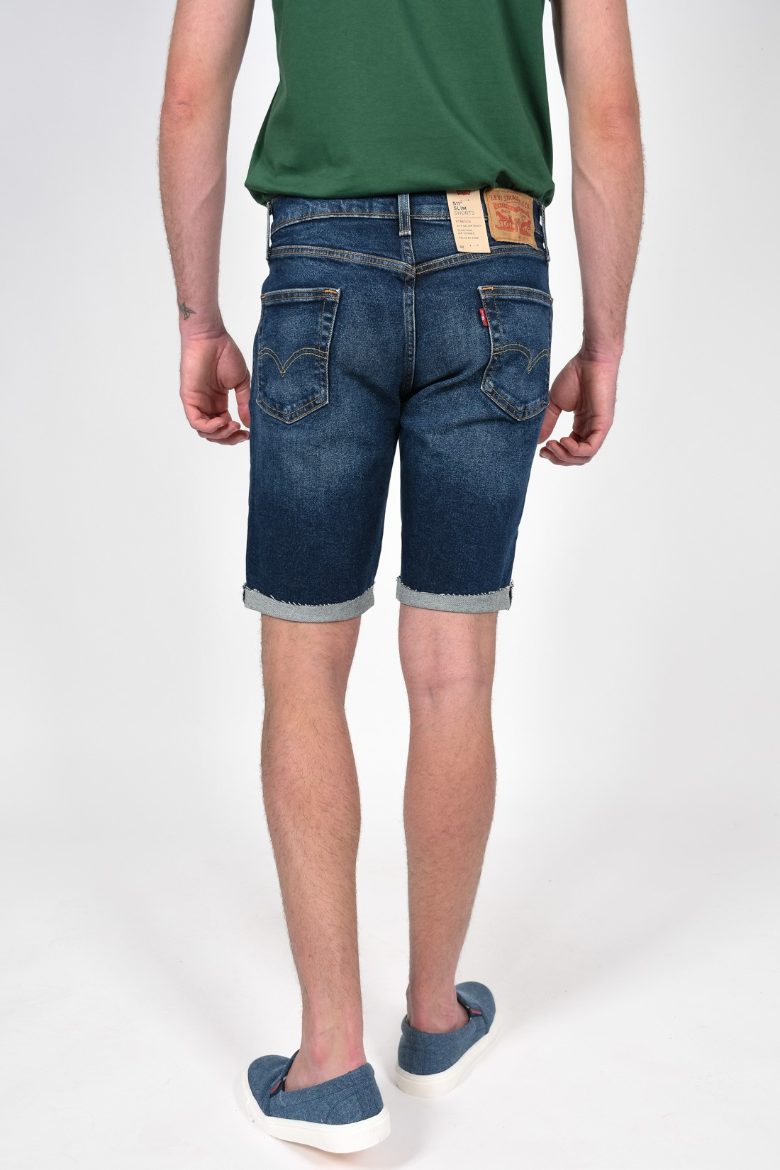 Bermuda Jeans Levis 511 Slim