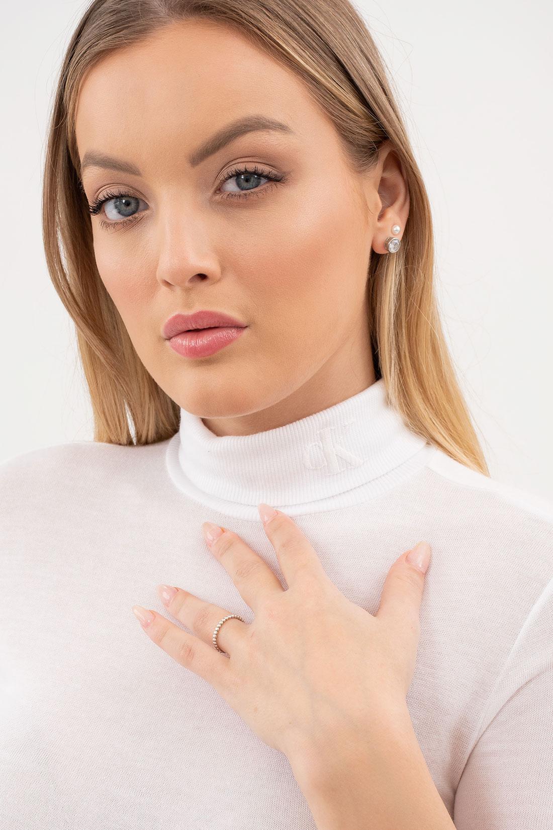 Blusa Mc Calvin Klein Logo Gola