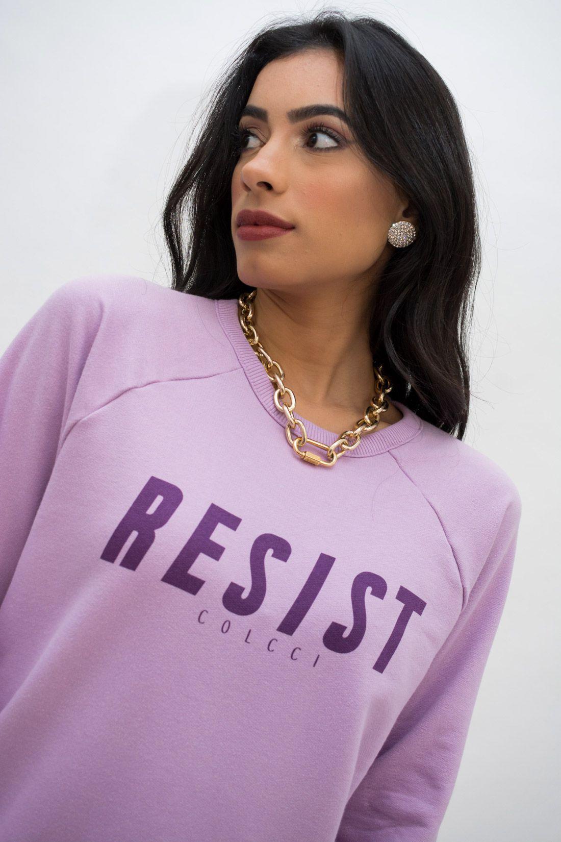 Moletom Colcci Resist