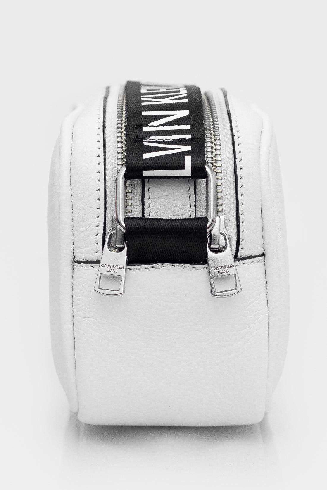 Bolsa Calvin Klein Camera Bag Logo Alça