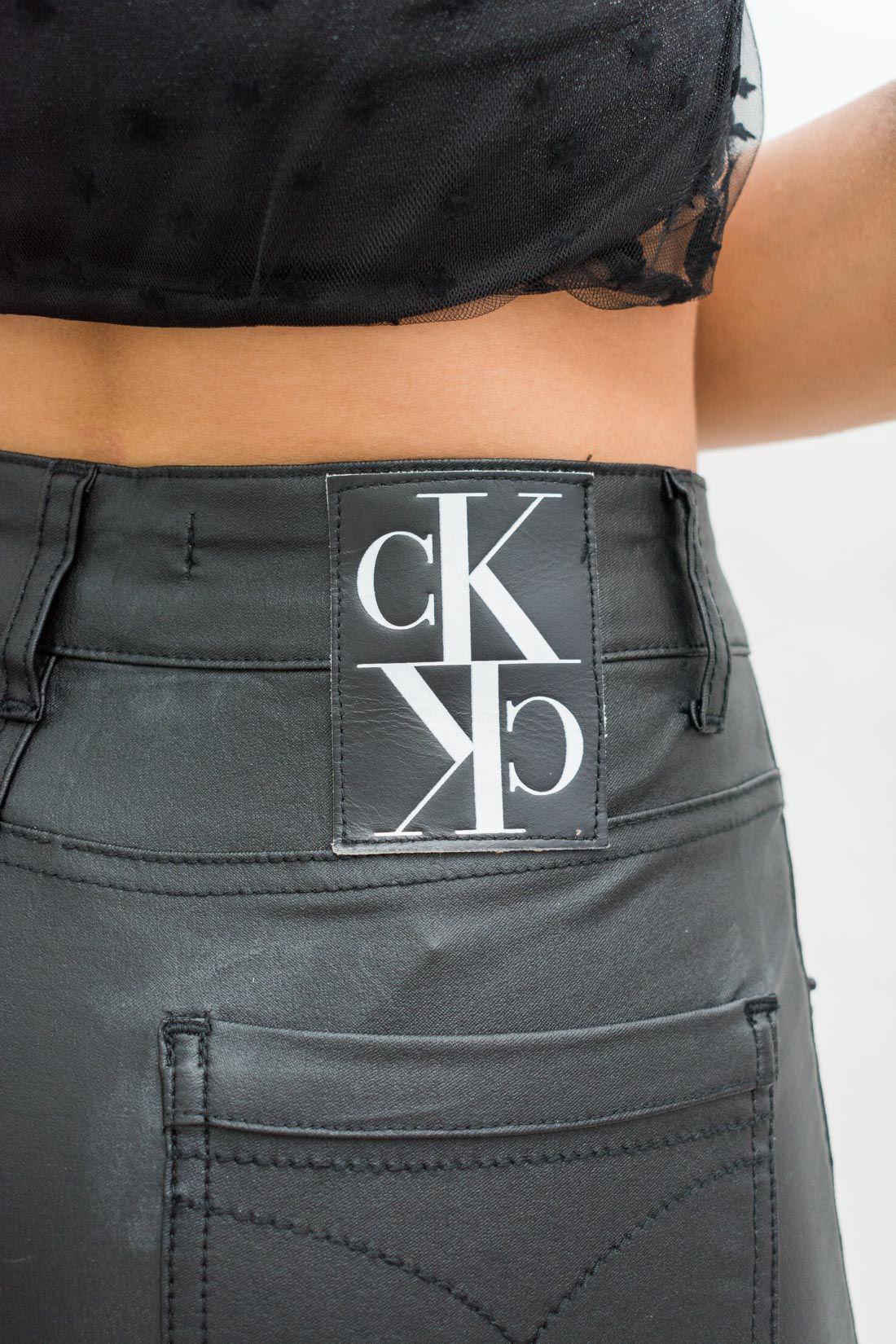 Calca Calvin Klein Resinada Beng Mirrored