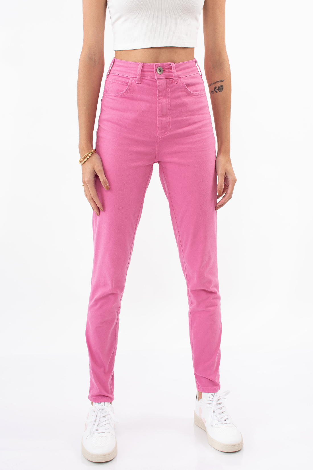 Calca Color Colcci Bruna Stretch