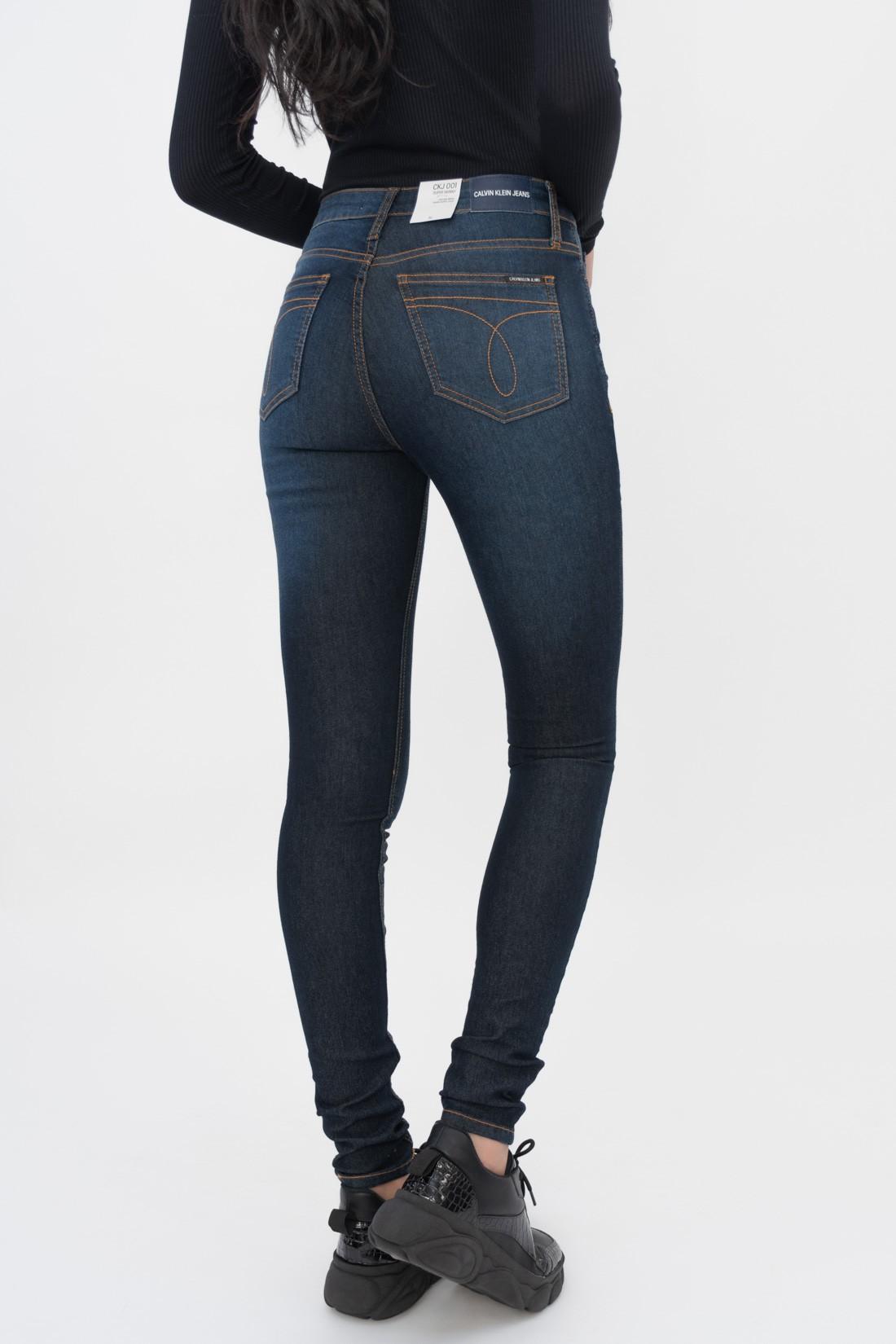 Calca Jeans Calvin Klein Pespontos