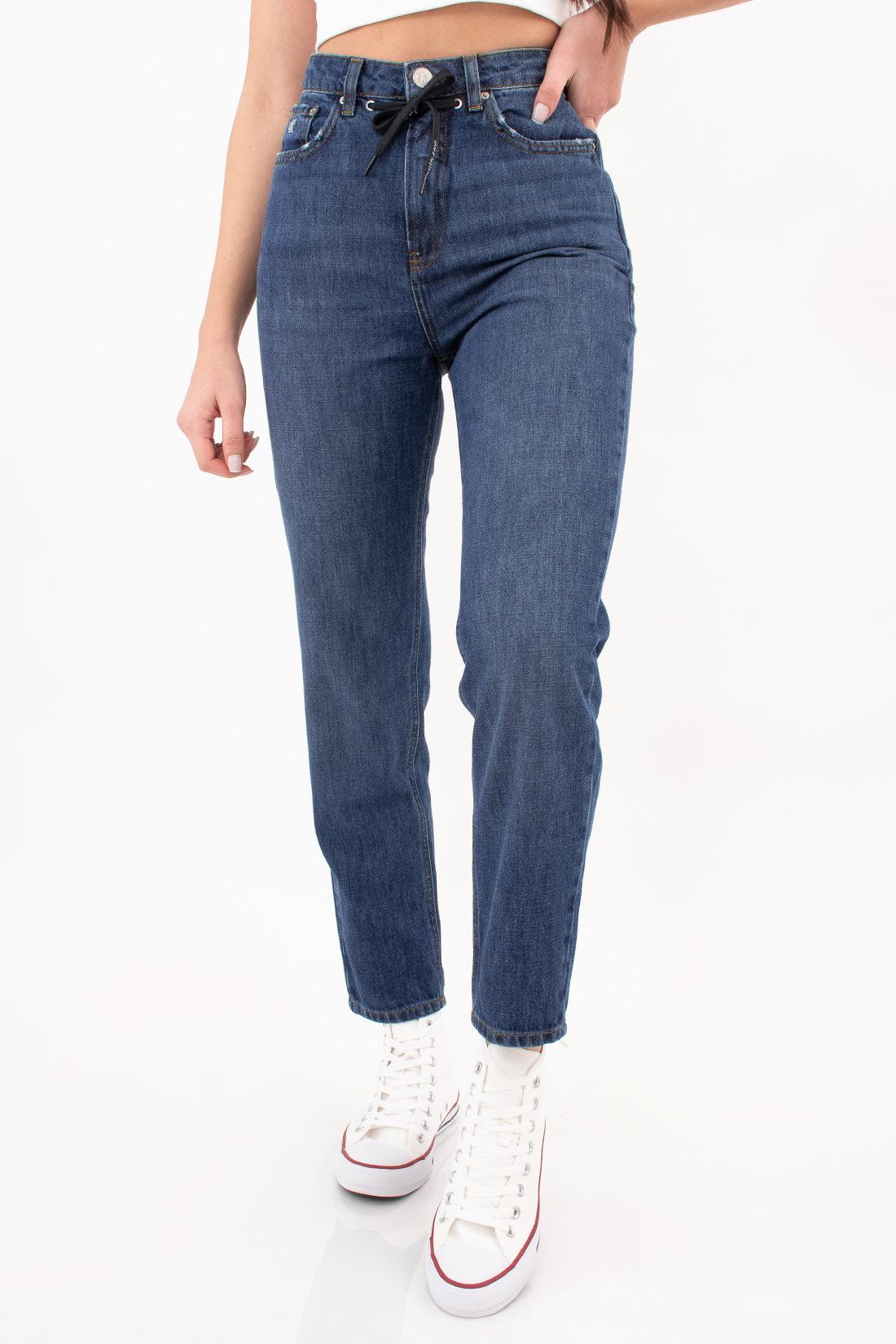 Calca Jeans Calvin Klein Mom Cadarço Global