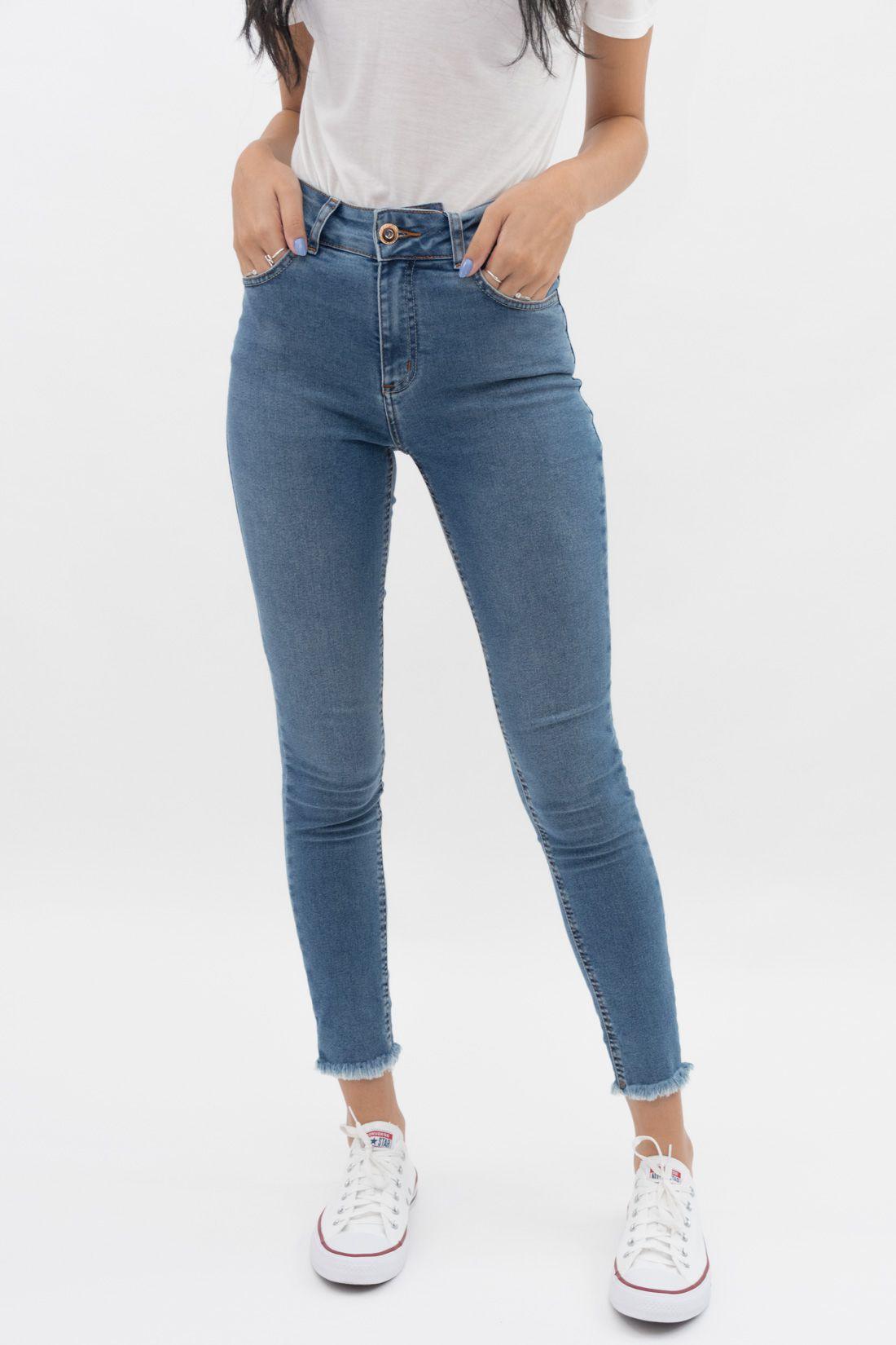 Calca Jeans Colcci Barra Desfiada