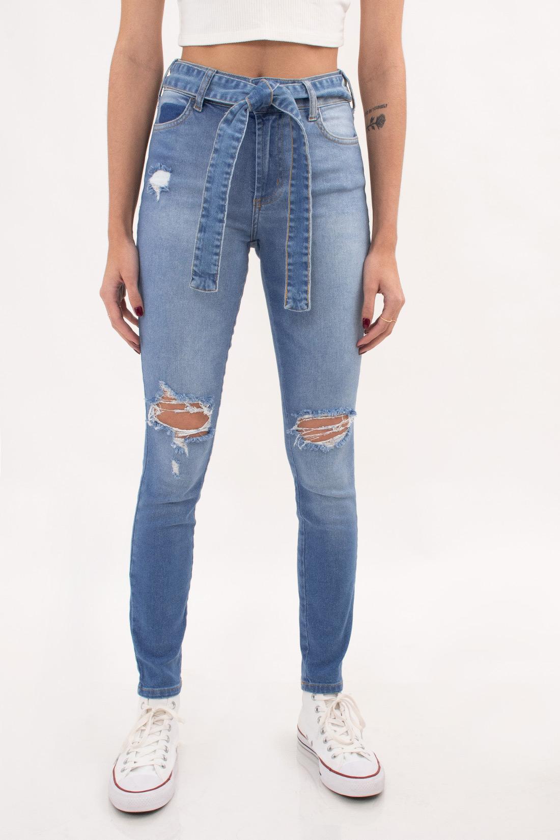Calca Jeans Colcci Bia Com Cinto