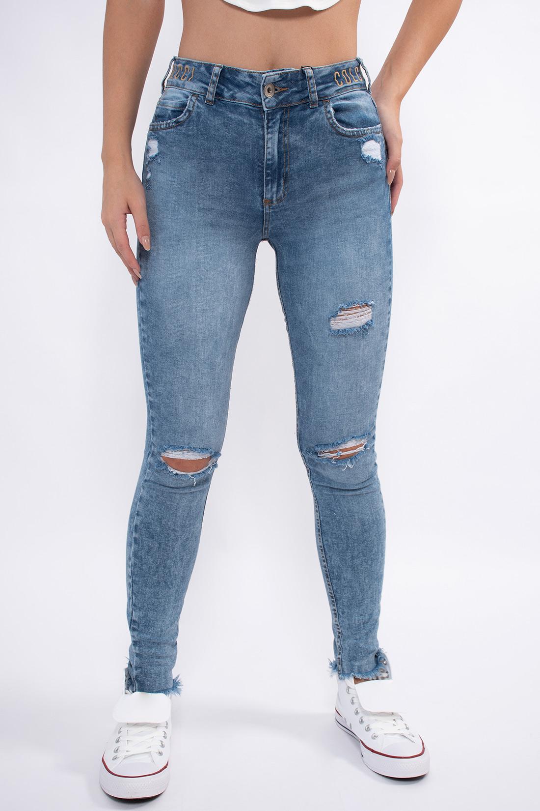 Calca Jeans Colcci Bia Logo Cos