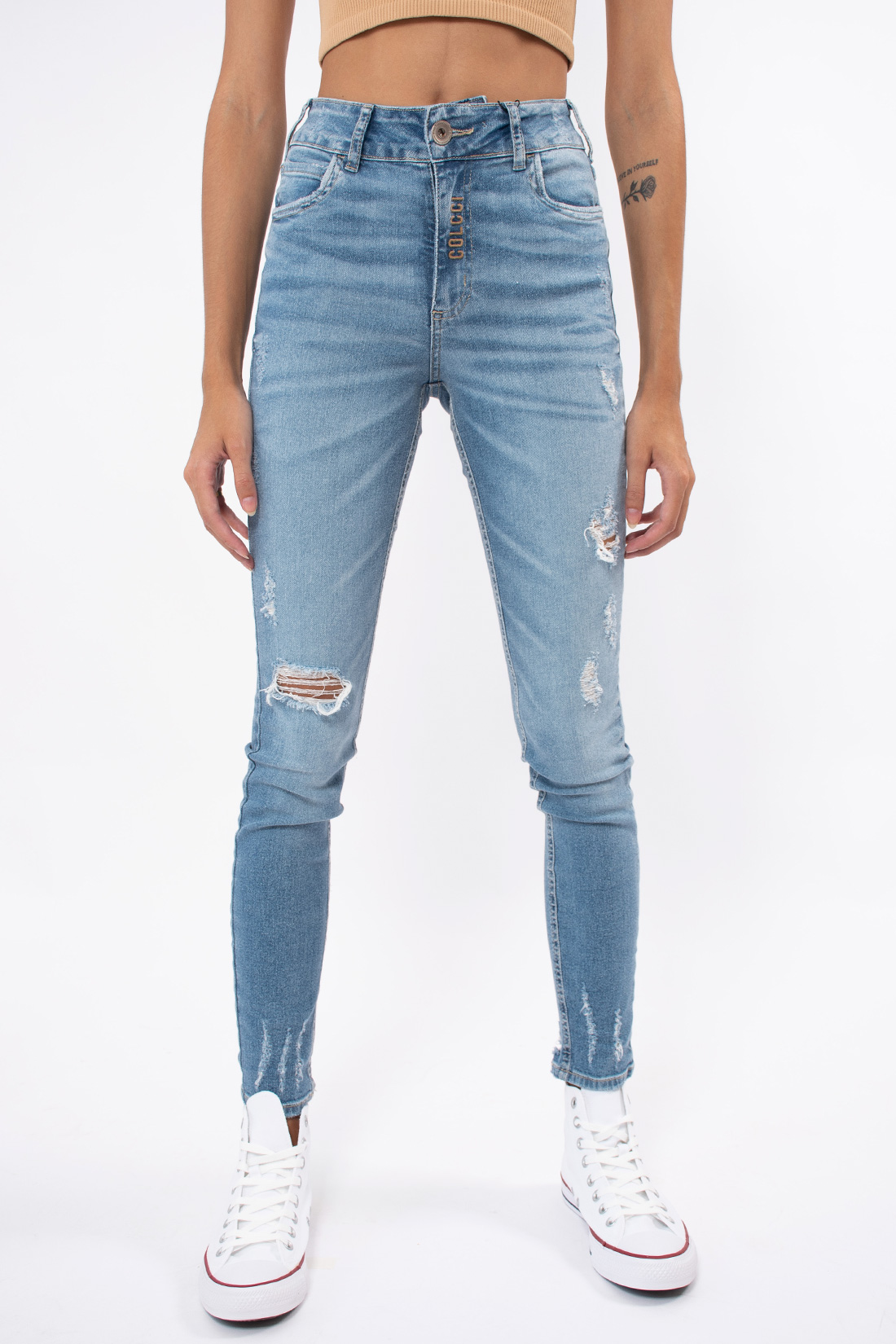 Calca Jeans Colcci Bia Puidos