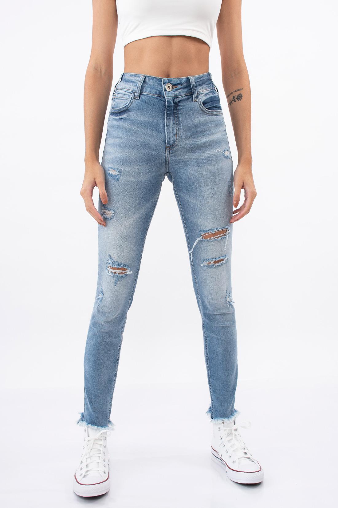 Calca Jeans Colcci Bia Rasgos
