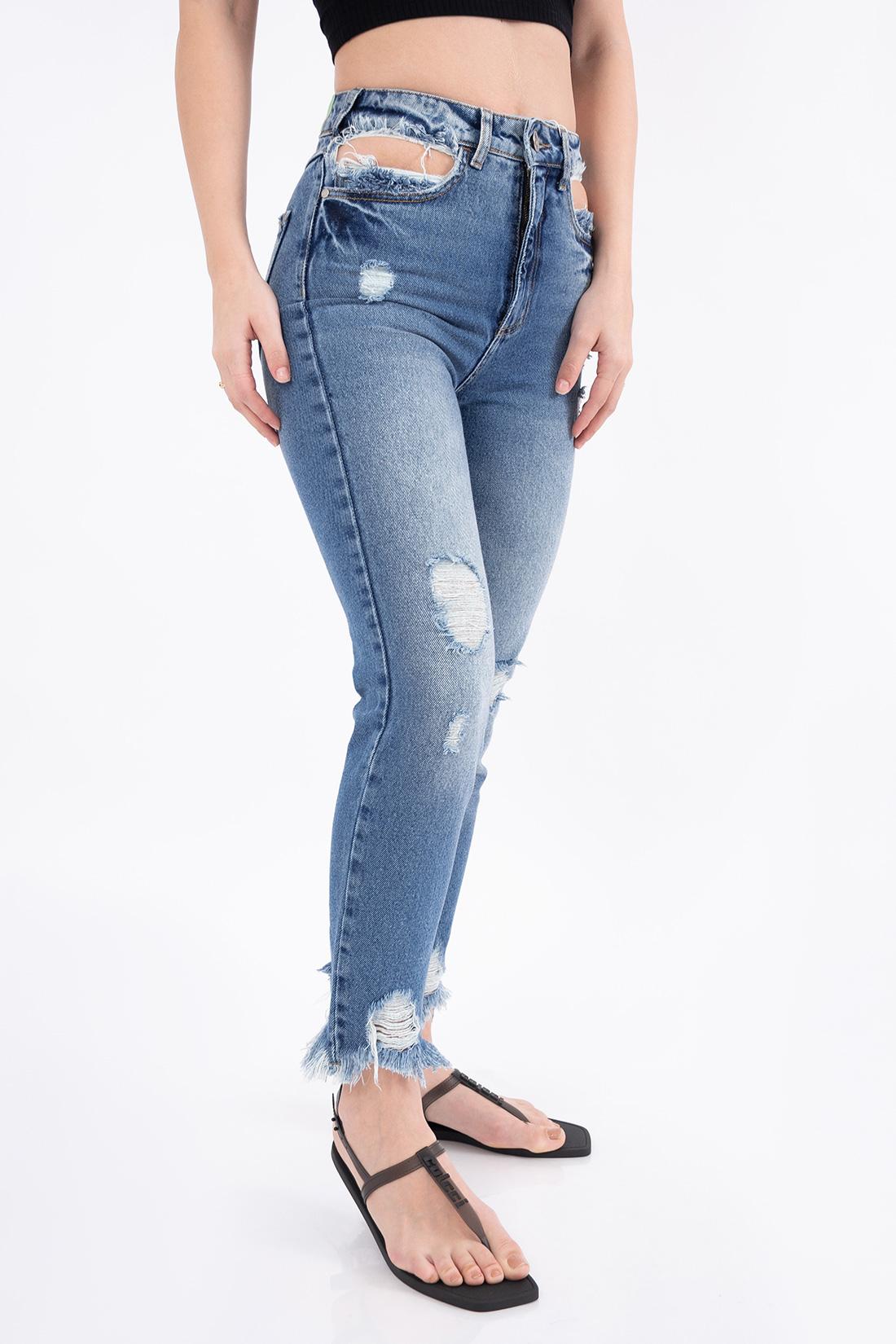 Calca Jeans Colcci Bruna Destroyed