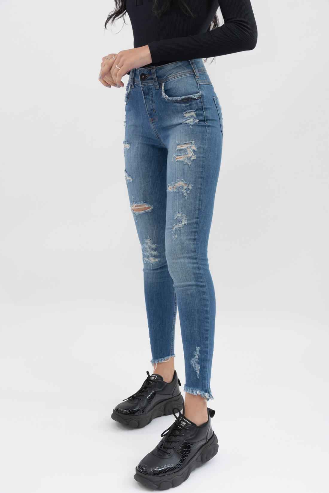 Calça Jeans Colcci Destroyed