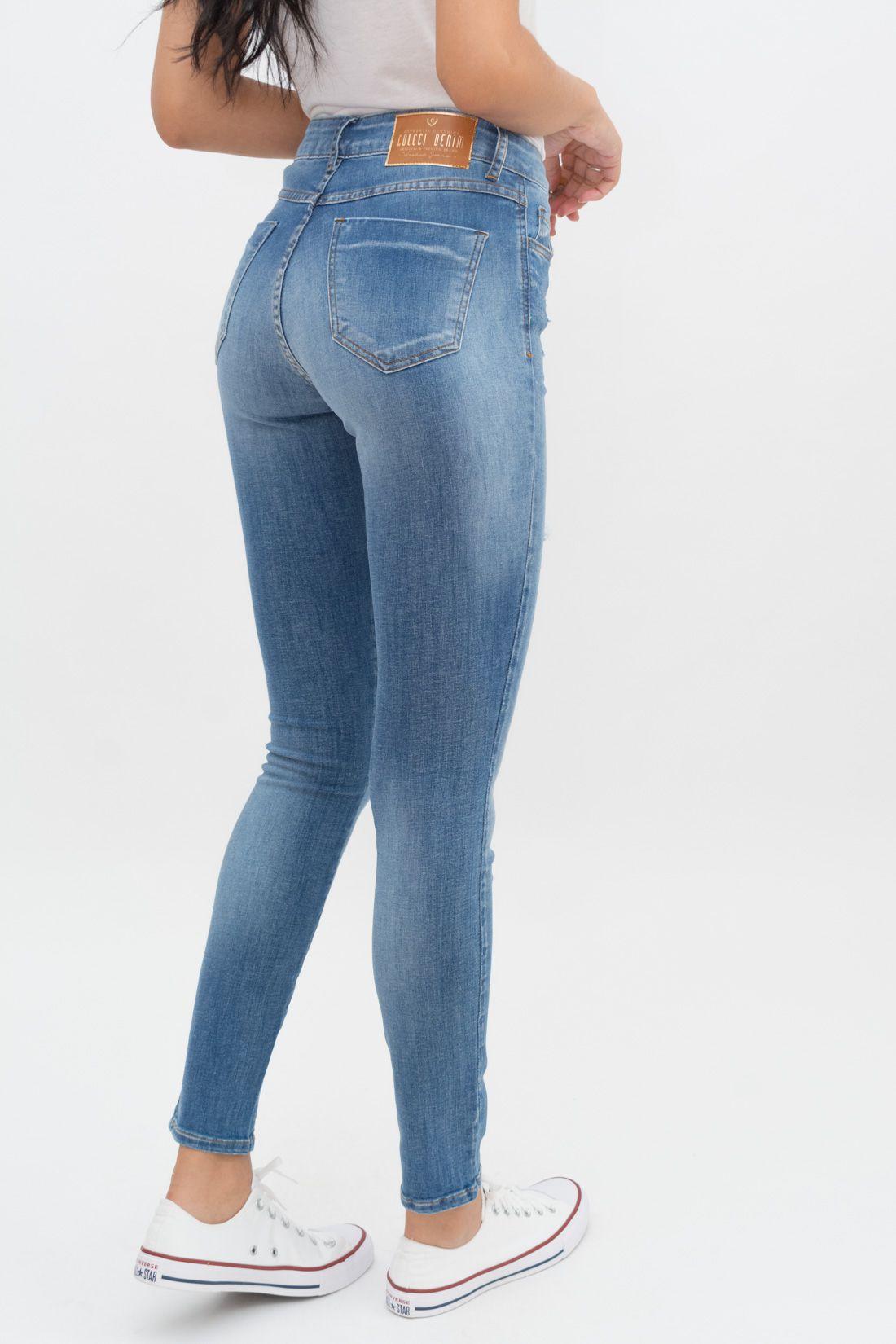 Calca Jeans Colcci Destroyed