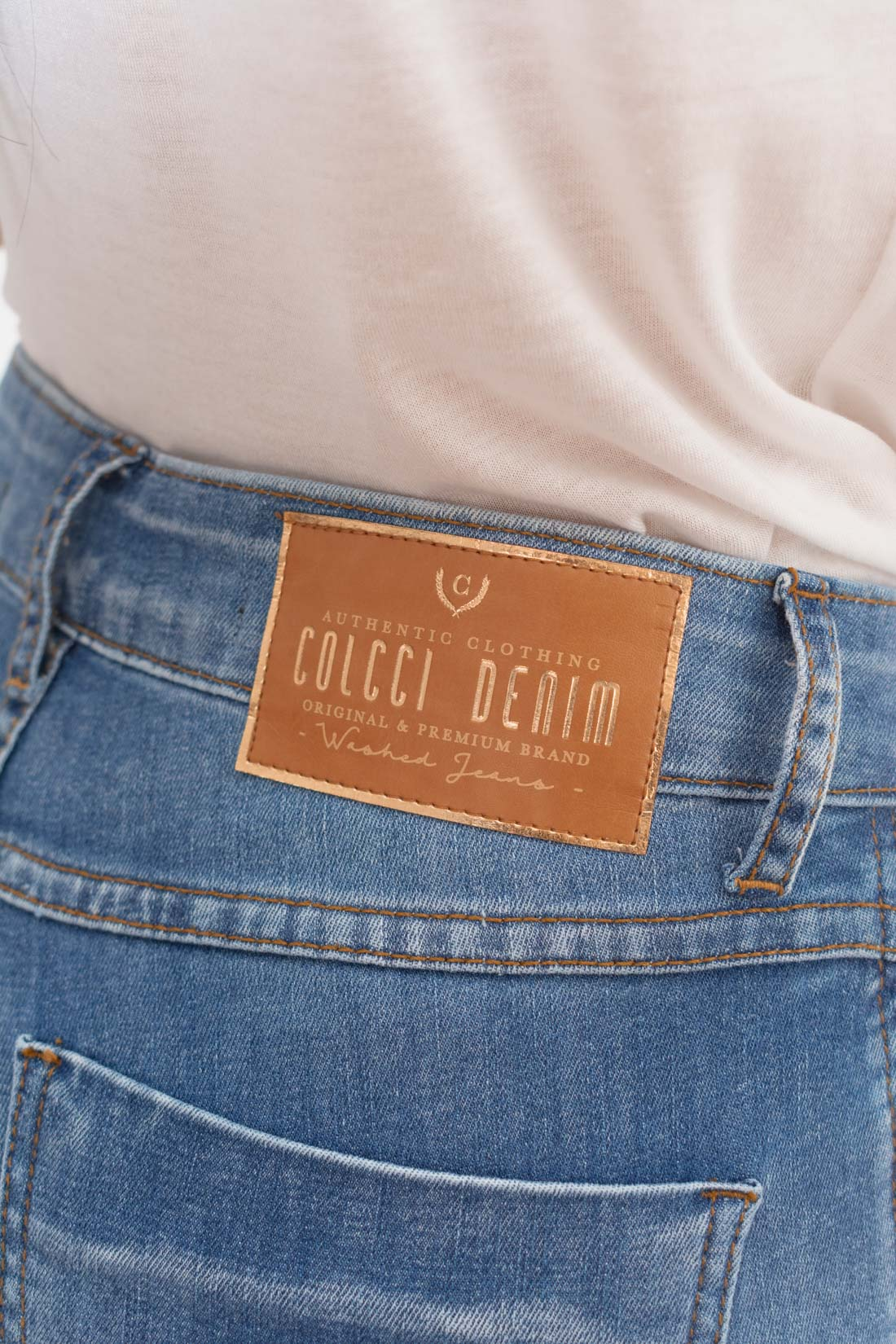 Calca Jeans Colcci Destroyed