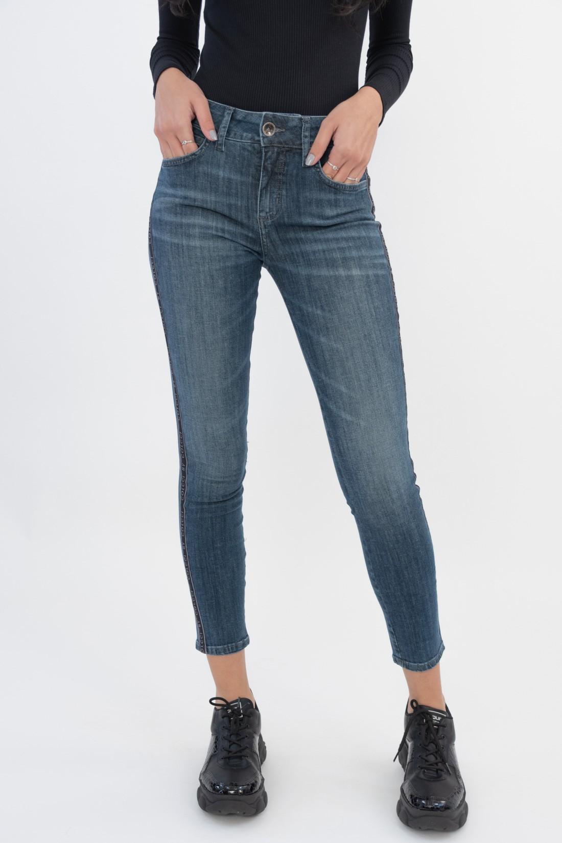 Calca Jeans Colcci Faixa Lateral