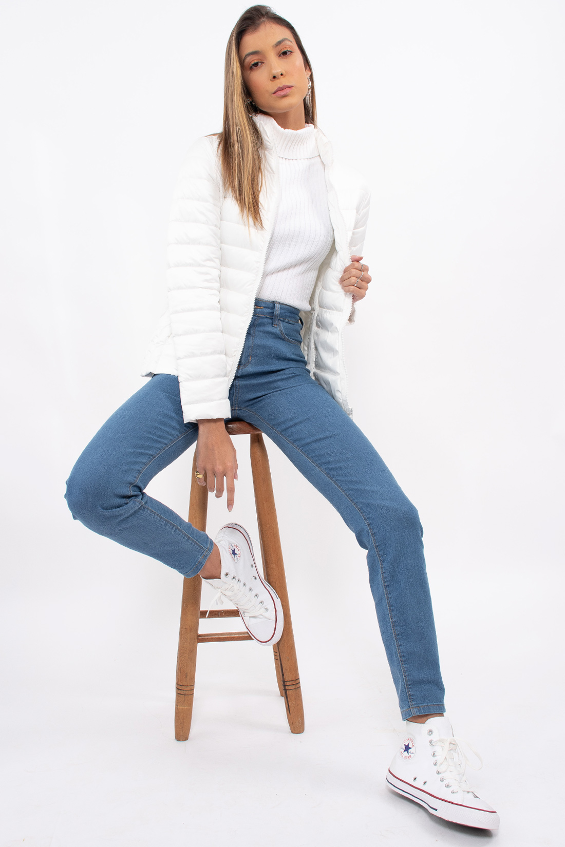 Calca Jeans Hering Skinny Basica