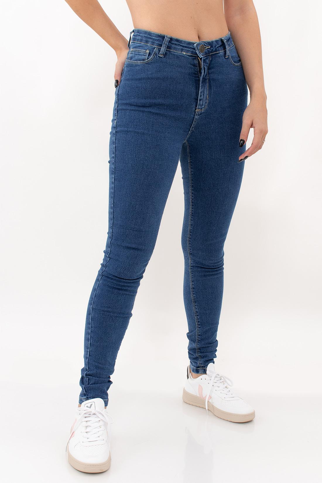 Calca Jeans Hering Super Skinny Basica