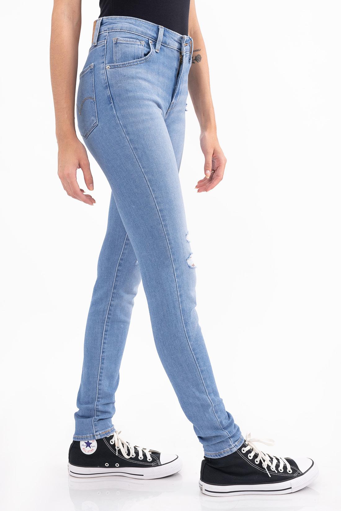 Calca Jeans Jeans 721 High Rise Skinny Rasgos