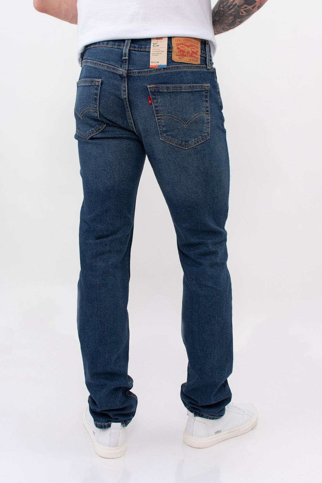 Calca Jeans Levis 511 Slim All Seasons Tech